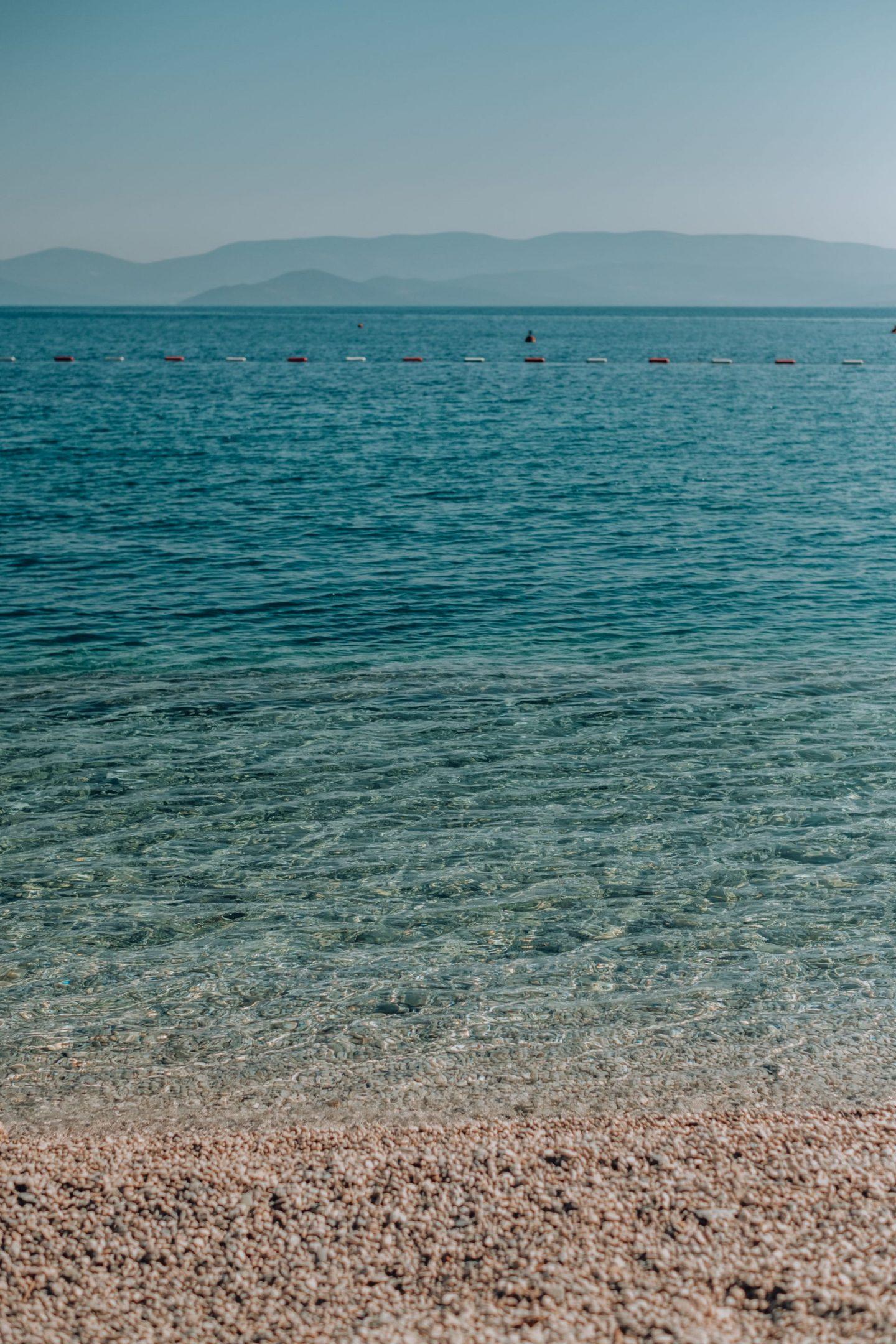 bluest water