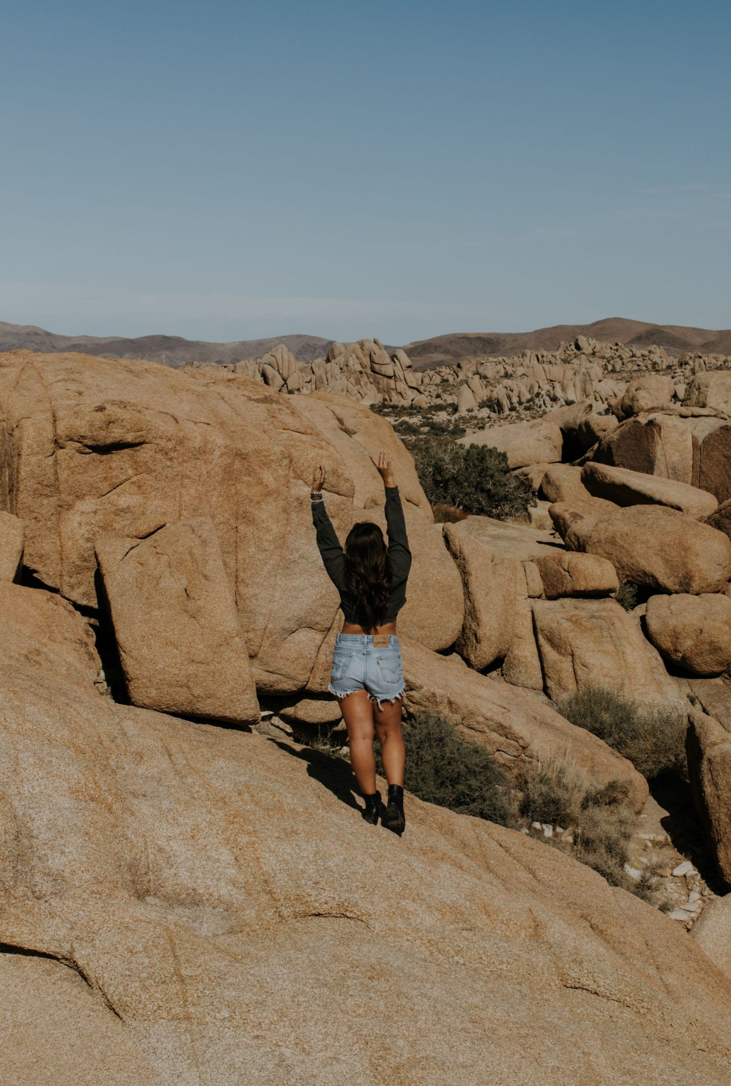 Hanging out in Joshua Tree
